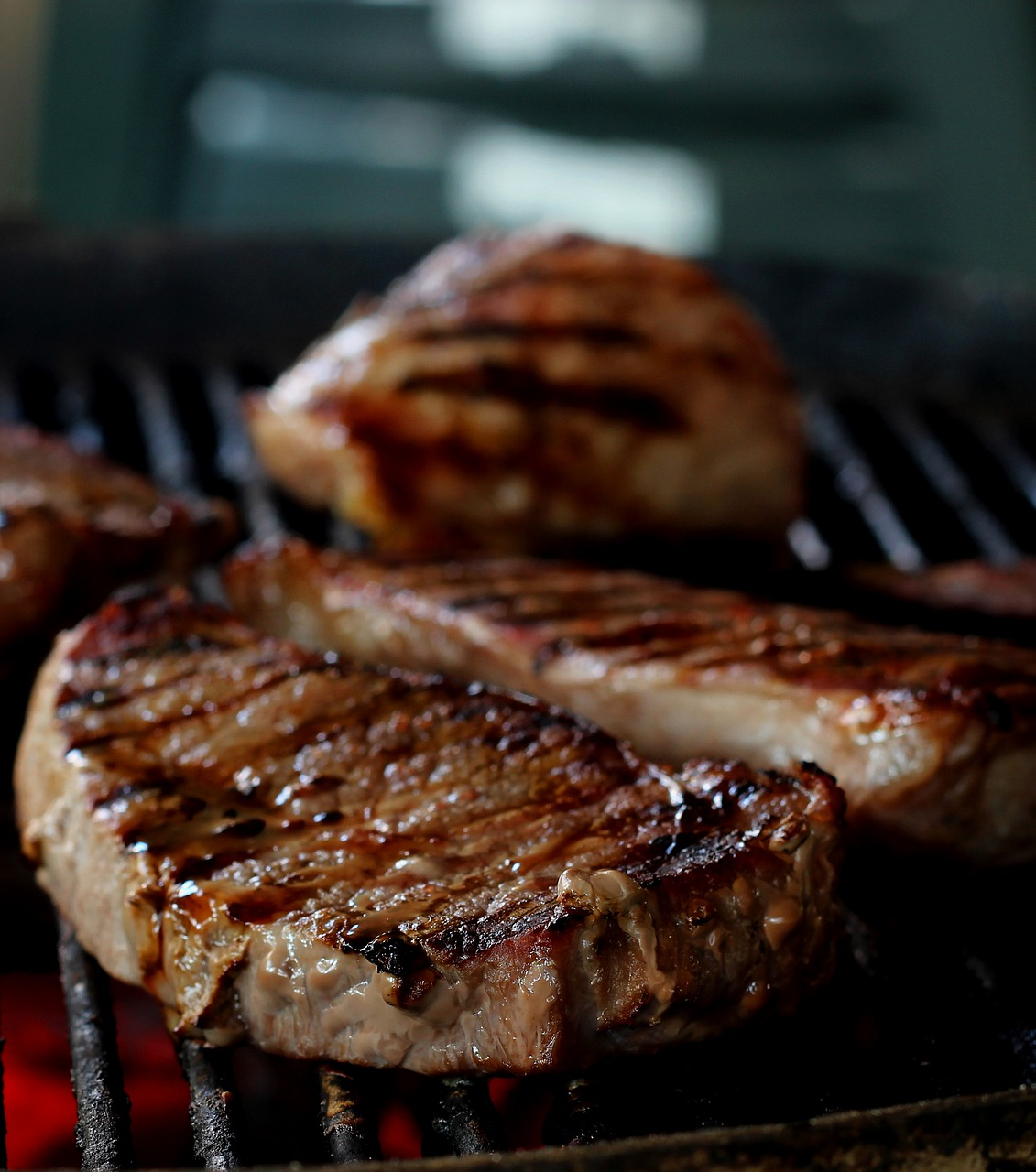 meat, barbecue, grill